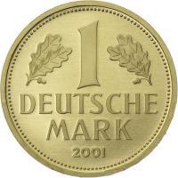 Gold 1 DM 2001 A