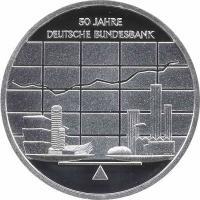 Deutschland 10 Euro 2007 Bundesbank PP