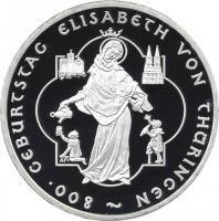 Deutschland 10 Euro 2007 Hl. Elisabeth PP