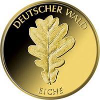 Deutschland 20 Euro 2010 Eiche (Gold)