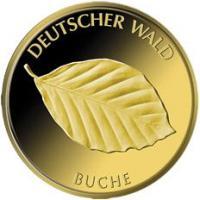 Deutschland 20 Euro 2011 Buche (Gold)