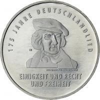 Deutschland 20 Euro 2016 175 Jahre Deutschlandlied prfr