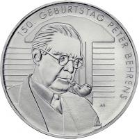 Deutschland 20 Euro 2018 150. Geburtstag Peter Behrens prfr