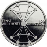 Deutschland 20 Euro 2018 100. Geburtstag Ernst Otto Fischer PP