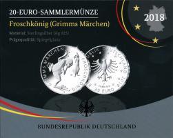 Deutschland 20 Euro 2018 Froschkönig PP