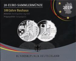 Deutschland 20 Euro 2019 100 J. Bauhaus PP