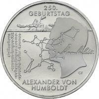 Deutschland 20 Euro 2019 250. Geburtstag Alexander von Humboldt prfr