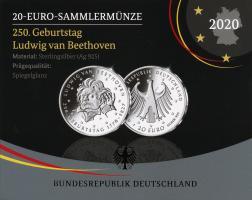 Deutschland 20 Euro 2020 Ludwig van Beethoven PP