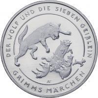 Deutschland 20 Euro 2020 Der Wolf und die sieben Geißlein prfr