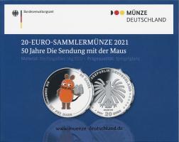 Deutschland 20 Euro 2021 50 Jahre Die Sendung mit der Maus PP