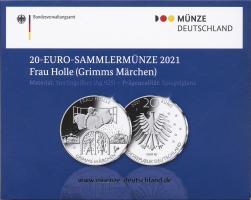 Deutschland 20 Euro 2021 Frau Holle PP
