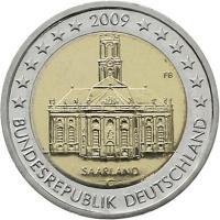 Deutschland 2 Euro 2009 Saarland