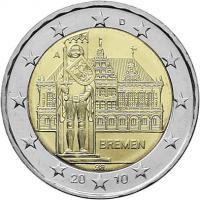 Deutschland 2 Euro 2010 Bremen
