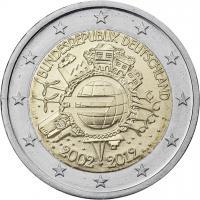 Deutschland 2 Euro 2012 Euro-Bargeld