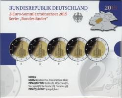 Deutschland 2-Euro-Set 2015 Hessen PP