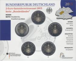 Deutschland 2-Euro-Set 2015 Hessen stg