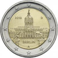 Deutschland 2 Euro 2018 Berlin Schloß Charlottenburg prfr