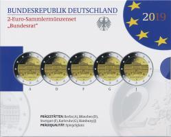 Deutschland 2-Euro-Set 2019 Bundesrat PP