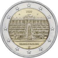 Deutschland 2 Euro 2020 Brandenburg (Schloß Sanssouci) prfr