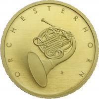 Deutschland 50 Euro 2020 Orchesterhorn (Gold)
