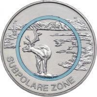 Deutschland 5 Euro 2020 Subpolare Zone prfr
