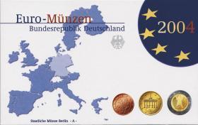 Deutschland Euro-KMS 2004 PP komplett
