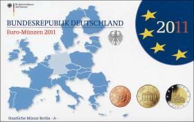 Deutschland Euro-KMS 2011 PP komplett