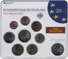 Deutschland Euro-KMS 2012 stg