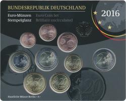 Deutschland Euro-KMS 2016 stg