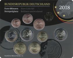 Deutschland Euro-KMS 2018 stg