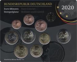 Deutschland Euro-KMS 2020 stg