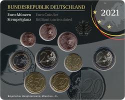 Deutschland Euro-KMS 2021 stg