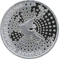 Deutschland 10 Euro 2007 Römische Verträge PP