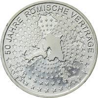 Deutschland 10 Euro 2007 Römische Verträge stg