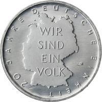 Deutschland 10 Euro 2010 20 Jahre Einheit stg
