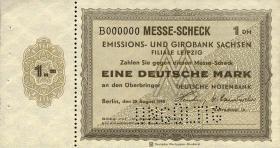 Leipziger Messe Scheck 1 DM 1949 Muster (1)
