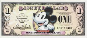 Disney 1 Dollar 2008 Jubiläum (1)