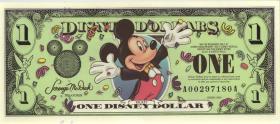 Disney 1 Dollar 2000 Millenium Ausgabe (1)