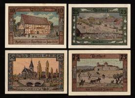 Notgeld Ditfurt 10 - 75 Pf. (4 Werte)