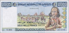 Djibouti P.40 2000 Francs (1997) (1)