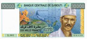 Djibouti P.45 10000 Francs (2005) (1)