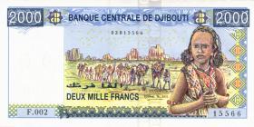 Djibouti P.43 2000 Francs (2005) (1)