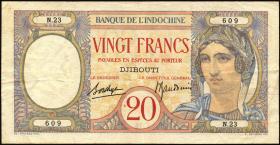 Djibouti P.07A 20 Francs o.D. (3)