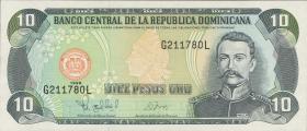 Dom. Republik/Dominican Republic P.153 10 Pesos Oro 1998 (1)