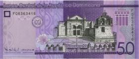 Dom. Republik/Dominican Republic P.neu 50 Pesos Dominicanos 2017 (1)