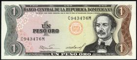 Dom. Republik/Dominican Republic P.126 1 Peso Oro 84-88
