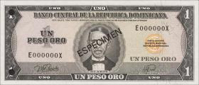 Dom. Republik/Dominican Republic P.108s 1 Peso Oro 1976 (1)