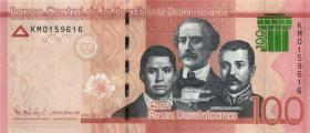 Dom. Republik/Dominican Republic P.neu 100 Pesos Dominicanos 2017 (1)