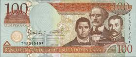 Dom. Republik/Dominican Republic P.177b 100 Pesos Oro 2009