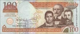 Dom. Republik/Dominican Republic P.184b Pesos Dom. 2011